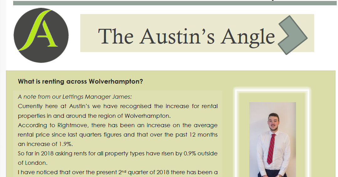 The Austins Angle July Edition - Austins Estate Agents, Wolverhampton