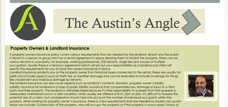 The Austins Angle November Edition - Austins Estate Agents, Wolverhampton