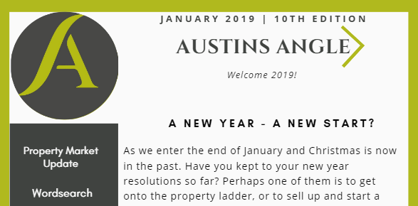 The Austins Angle January Edition - Austins Estate Agents, Wolverhampton