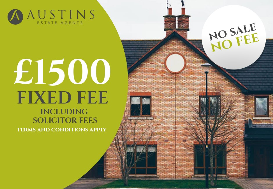 Sell your home for a fixed fee this new year - Austins Estate Agents, Wolverhampton