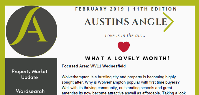 The Austins Angle February Edition - Austins Estate Agents, Wolverhampton